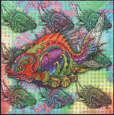 Luke Brown Signed Fish Blotter Art - Rare Limited Edition Of 100 - Price Reduced