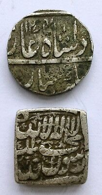 India (?) - Unresearched Silver Coins (2).