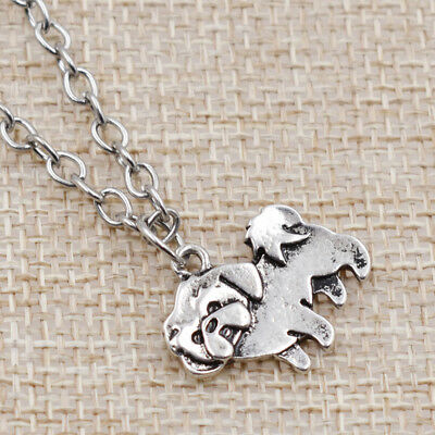 Unique Alloy Chain Shih Tzu Pendant Retro Dog Long Chain Necklace Unisex Jewelry