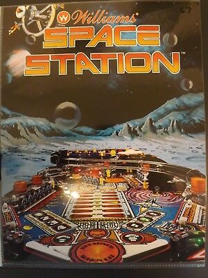 Space Station Pinball Flyer