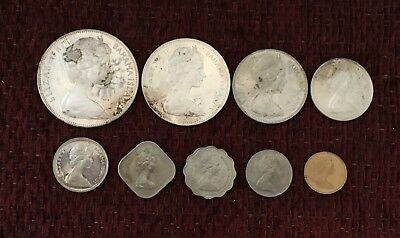 Bahama Mint Set 1970  / Includes Large $5 Silver Coin   #6