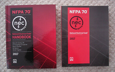 2017 NEC NFPA 70 Handbook & Softbound Two Book Set - National Electrical Code