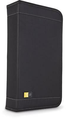 Case Logic CDW-92 Nylon CD/DVD Wallet, 100-Capacity (Black)
