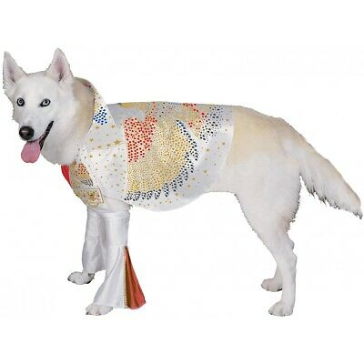Elvis Dog Costume Pet Halloween Fancy Dress