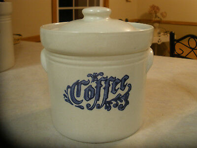 Pfaltzgraff Yorktowne Coffee Canister with lid