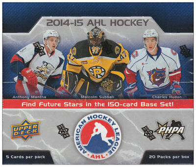 2014-15 Upper Deck AHL  Hockey Base Cards! U Select From List