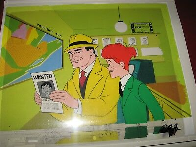 Dick Tracy Original Production Cel