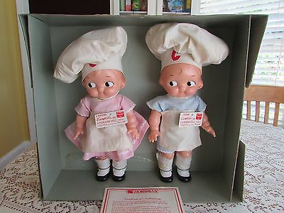 Horsman Campbell's Soup Kids Chefs Limited Numbered Edition Replica Series Dolls