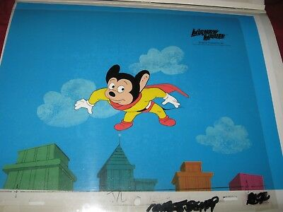 Mighty Mouse Original Production Cel