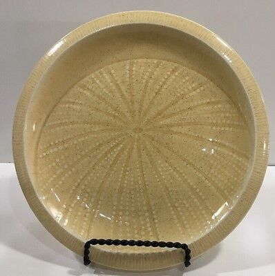 """Franciscan Ware Sea Sculptures Sea Urchin 9 1/8"""" Lunch Salad Plate In Sand USA"""