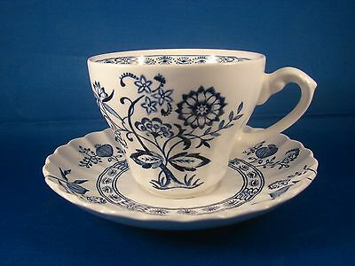 Blue Onion Cup And Saucer J & G Meakin