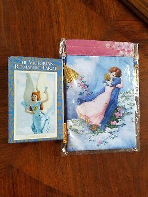 The Victorian Romantic Tarot 2nd Edition Complete Deck & Lovers Bag Baba Studios