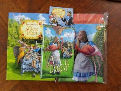 The Alice Tarot BRAND NEW AND SEALED / OOP RARE / Baba Studios + Book & Bag