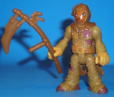 Imaginext DC Super Friends SCARECROW figure with scythe from pack Brand New