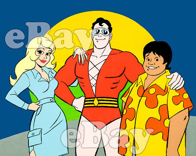 Rare! PLASTIC MAN Cartoon Photo HANNA BARBERA Ruby Spears Studios DC COMICS