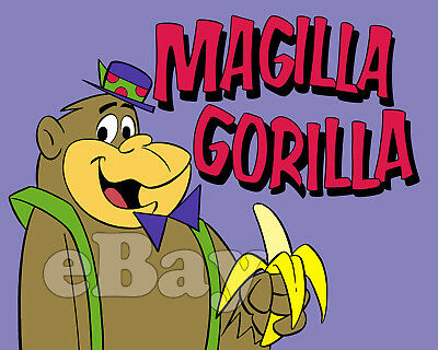 Rare! MAGILLA GORILLA Cartoon Color TV Photo HANNA BARBERA Studios