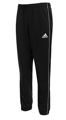 Adidas Youth Core 18 PES Training Soccer Black Football Kid Bottom Pants CE9049