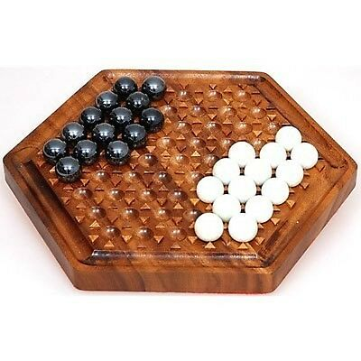 Taw: The Marble GameWooden Design with Glass Marbles