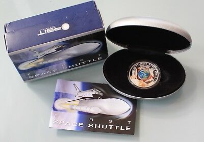 Australia 2010 Perth Mint Orbit and Beyond First Space Shuttle 1oz Silver Coin
