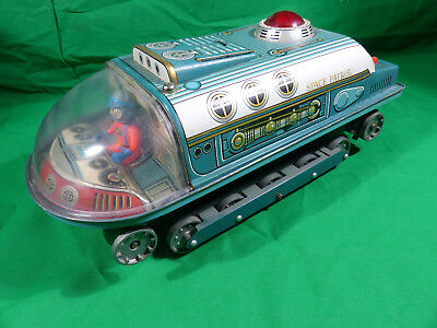 Made in Japan - Modern Toys - Space Toy - Space Patrol - 1960's  35cm Tintoy