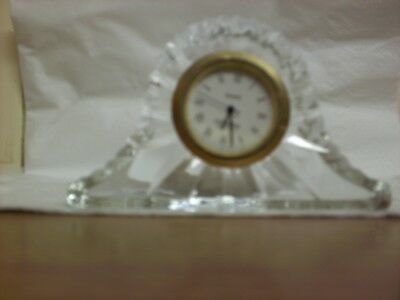Mini Crystal Mantle Clock
