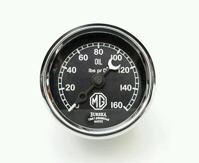"Brand New 2"" MG Oil  Gauge 0-160 for 1929-1931 M TYPE"