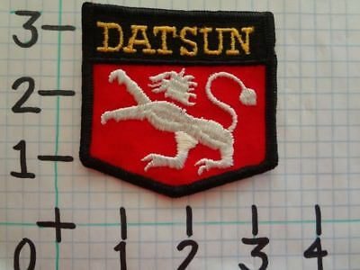 fe5ede061fc VINTAGE NOS 70 S Datsun Auto Car Novelty Hat Sew On Patch -  6.99 ...