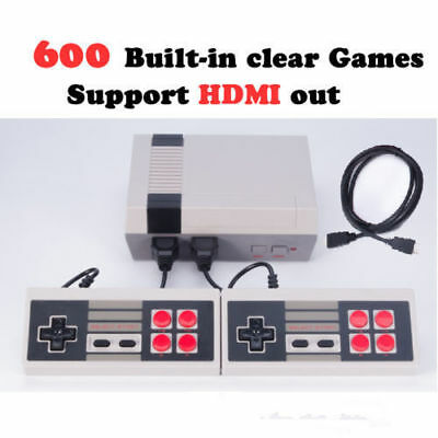 NES HDMI Mini Classic Edition Games Console with 600 Classic Nintendo Games Gift