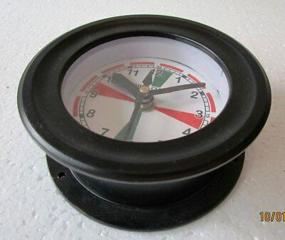 SHIP'S Clock – Marine RADIO ROOM Clock - BOAT / MARITIME / NAUTICAL (5011A)