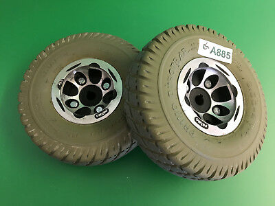 Invacare Pronto Sure Step M51 Wheels & tires  3.00-4 Solid Foam Filled   #A885