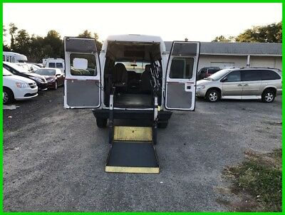 2009 Ford E-Series Van Commercial VAN WHEELCHAIR HANDICAP HIGH TOP POWER LIFT REAR 2009 Commercial Used 4.6L V8