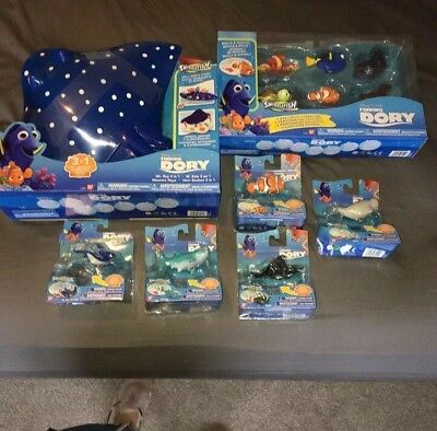 Finding Dory Nemo Toy Bundle New