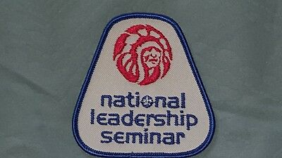 OA 1980s National Leadership Seminar (NLS) Participant Patch