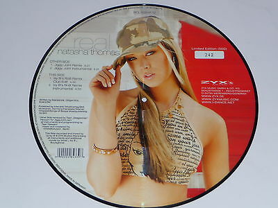 "Picture Vinyl Natasha Thomas "" Real "" NEU"