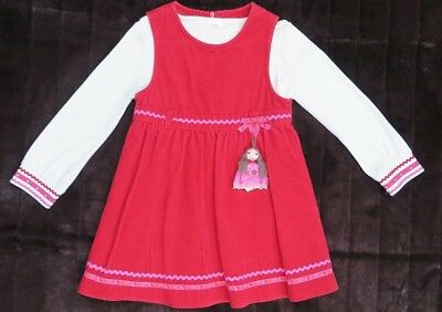 Gymboree Christmas Red Dress / Outfit Age 4 Years