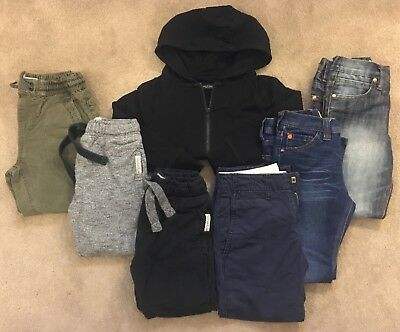 NEXT / GAP Boys Age 5 Clothes Bundle - Jeans, Chinos, Joggers, Hoodie