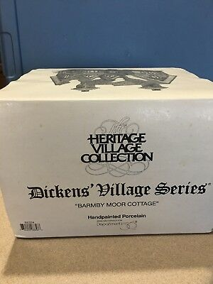 Dept 56 Dickens Heritage Village BARMBY MOOR COTTAGE MIB 1997 Retired