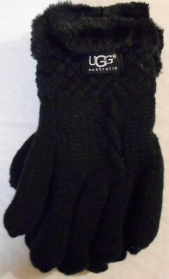 UGG Ladies winter gloves - one size fits all- black - last one - new