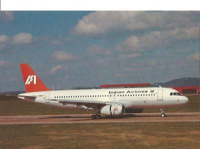 Cp Avion Airbus A320 231 Indian Airlines F-Wwdy  1989