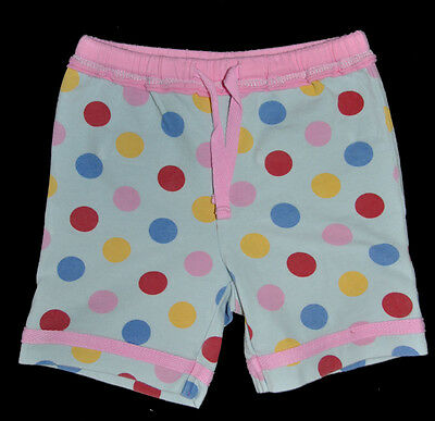 Mini Boden Baby Girl Cute Blue Spotted  Pants Shorts Age 0-3 Months