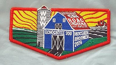 OA Echockotee Lodge 200 S-40 2009 NOAC Flap Boy Scouts of America