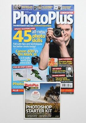 PhotoPlus Magazine - Canon Edition -April 2008 - Issue7 - Includes Disc