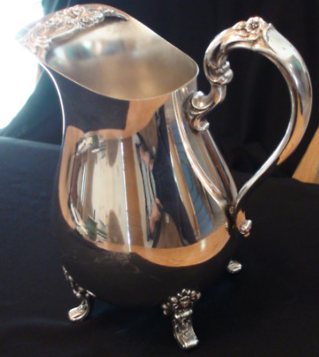Antique or Vintage Silver Plated Pitcher - COUNTESS - International Silver Co.