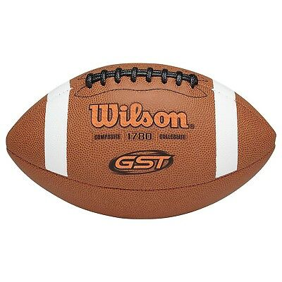 Wilson Gst Official Composite Football Brown Youth
