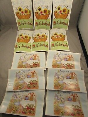 Longaberger WIldflower Seed Pack's Lot of 12   B-5