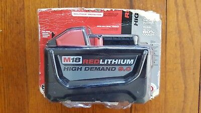 New Other Milwaukee M18 Red Lithium High Demand 9.0 Battery