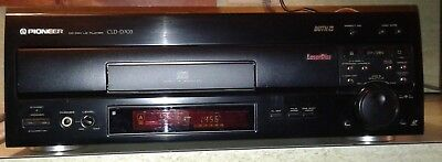 Pioneer laserdisc player CLD-D703 w/remote and manual