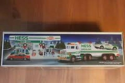 Hess* 1991* Toy* Truck* And Racer*  Mib*