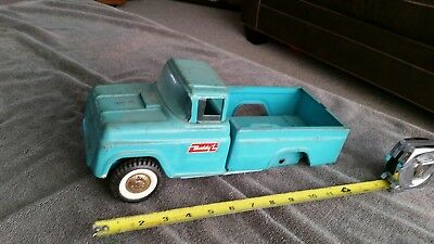 Vintage Buddy L Kennel Pickup Truck parts or restore.