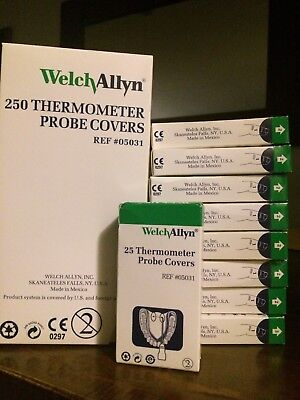 Welch Allyn Disposable Probe Covers SureTemp 690 Thermometer 20x Box of 25 = 500